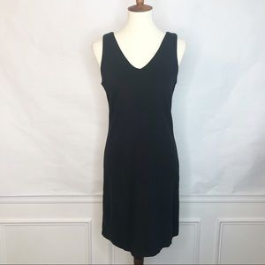 J. Crew Black Label LBD Black Sleeveless Dress 6